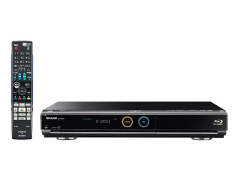 シャープのブルーレイディスクレコーダー「BD-HDW50」