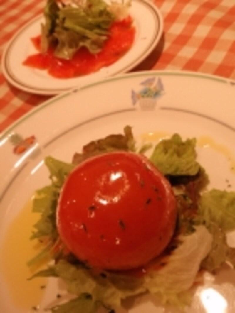 オリジナルトマトの丸ごとサラダ