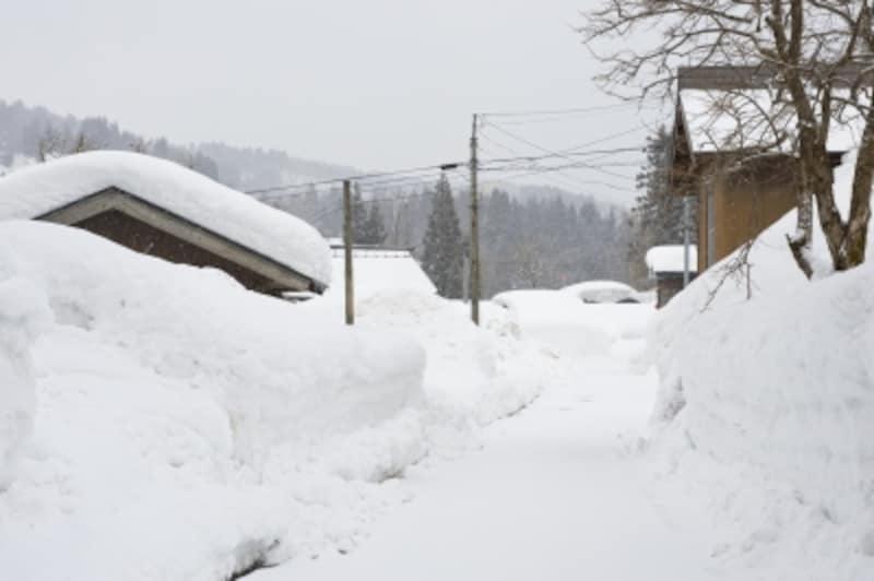 火災保険、雪災の補償のポイント