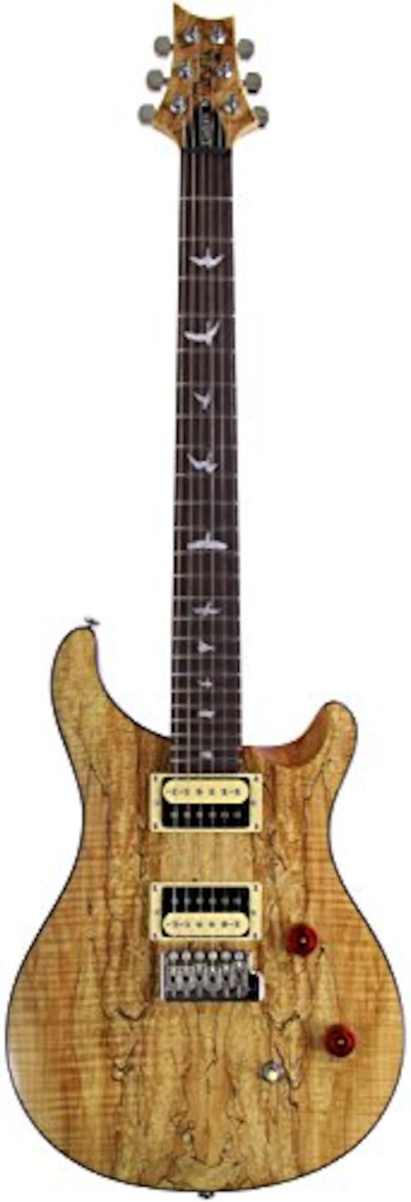 PRS ポールリードスミス エレキギター Ikebe Original SE CUSTOM 24 Bird Inlay Spalted Maple Top