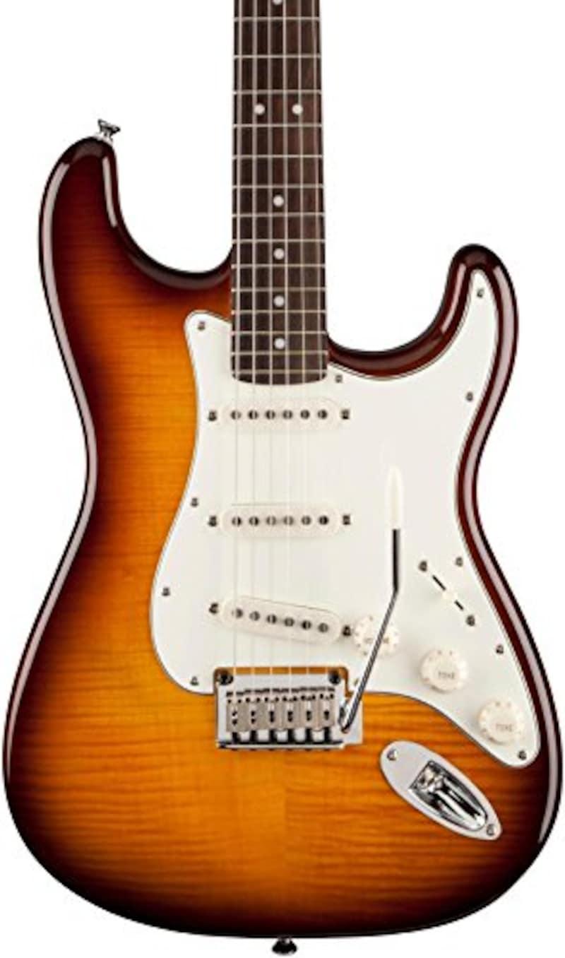 Squier Standard Strat FMT AMB エレキギター