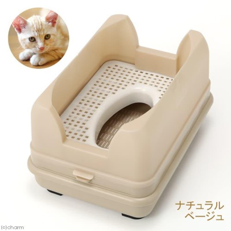 キャットワレ,コンパクトで便利な猫ちゃん用システムトイレ
