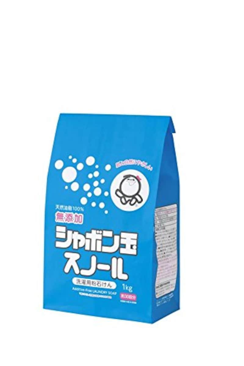 シャボン玉石けん,粉石けん スノール紙袋 1kg