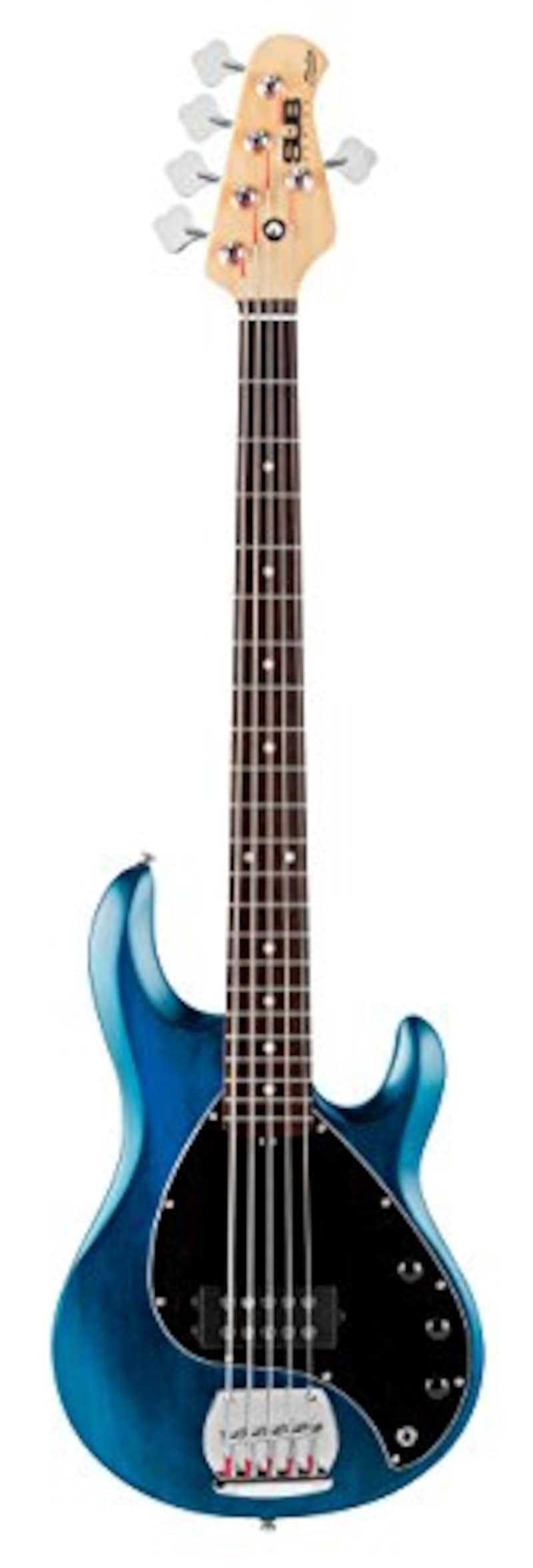 Sterling by MUSIC MAN ,S.U.B.SERIES Ray5 Trans Blue Stain 5弦エレキベース