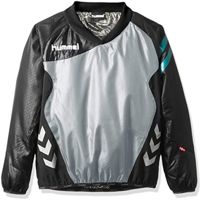ヒュンメル(hummel),サッカーウェア ジュニア裏付きピステトップ長袖シャツ,HJW4173