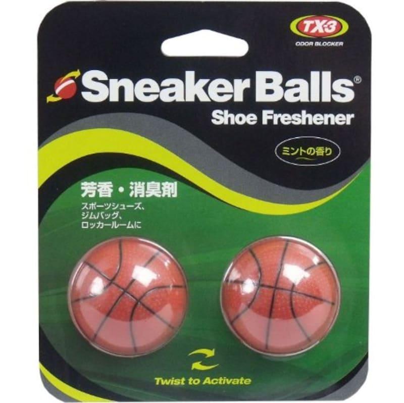 ミューラー,スニーカーボール バスケットボール 芳香・消臭剤 ミントの香り「2点セット」