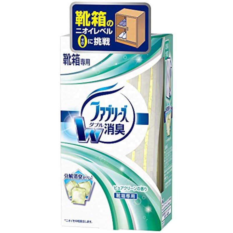 P&Gジャパン,ファブリーズ 消臭剤 置き型 靴箱用 ピュアクリーンの香り 本体 130g