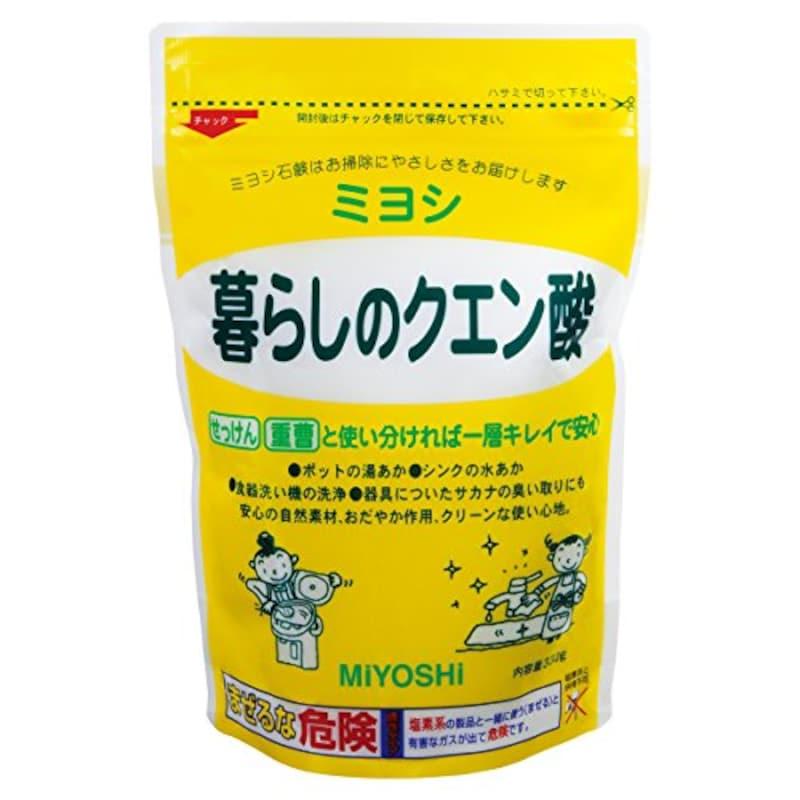 ミヨシ石鹸,暮らしのクエン酸 330g