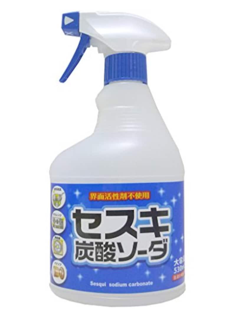 ロケット石鹸,セスキ炭酸ソーダスプレー 530ml