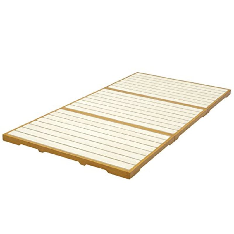 山善, 三ツ折れすのこベッド(シングル),YKB-S(LBR)