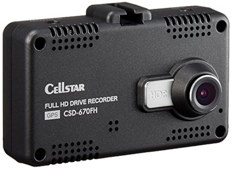 CELLSTAR(セルスター),ドライブレコーダー,CSD-670FH