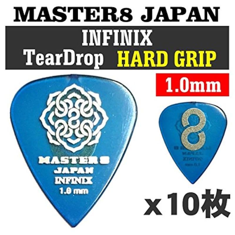 MASTER8 JAPAN INFINIX ティアドロップ 1.0mm HARD GRIP