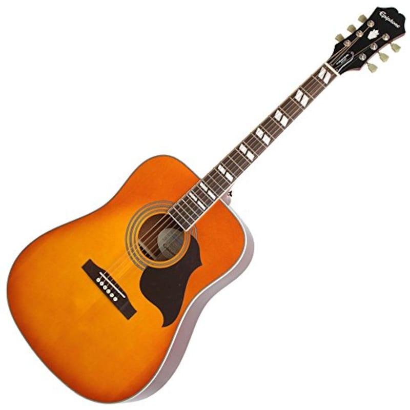 Epiphone Limited Edition Hammingbird Artist Honey Burst  アコースティックギター