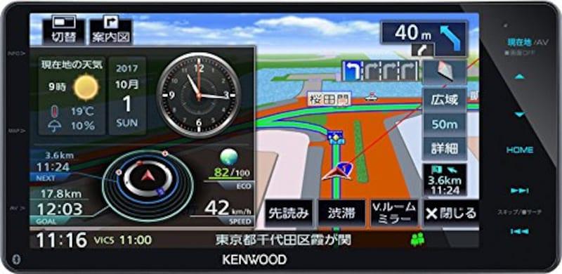 ケンウッド(KENWOOD), カーナビ 彩速ナビ ,MDV-M705W