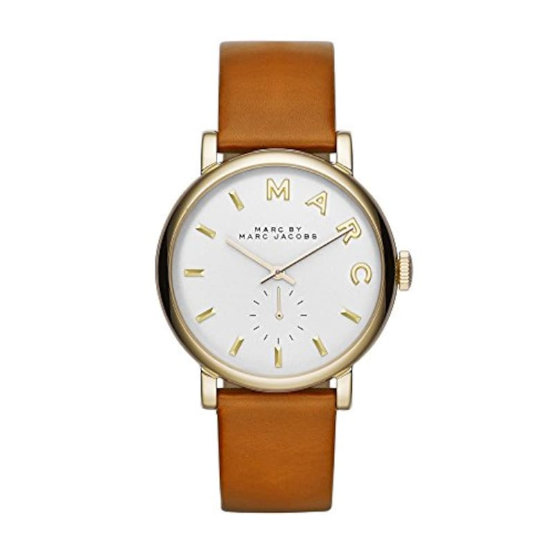 Marc by Marc Jacobs, 腕時計 Brown Leather Strap Watch MBM1316,MBM1316
