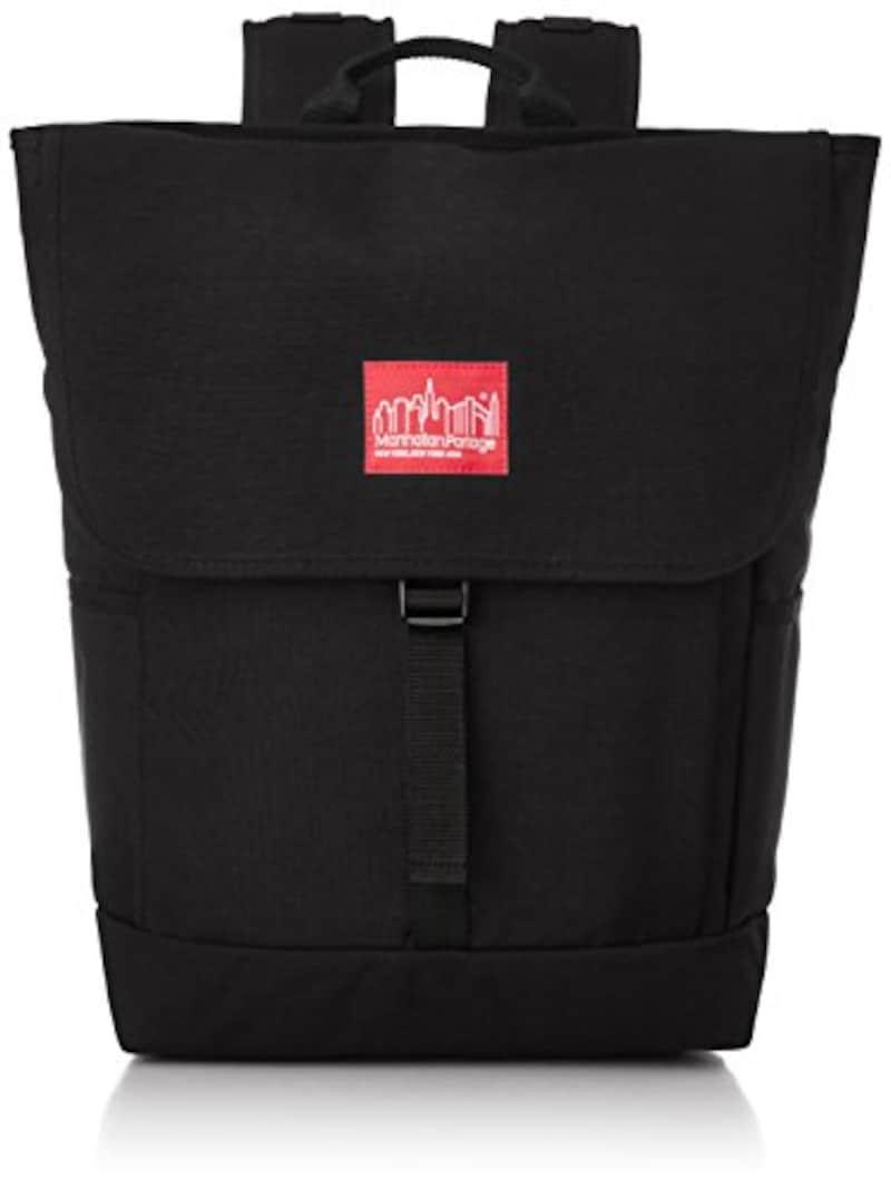 [マンハッタンポーテージ] Manhattan Portage 公式 Washington SQ Backpack MP1220 BLK (Black)