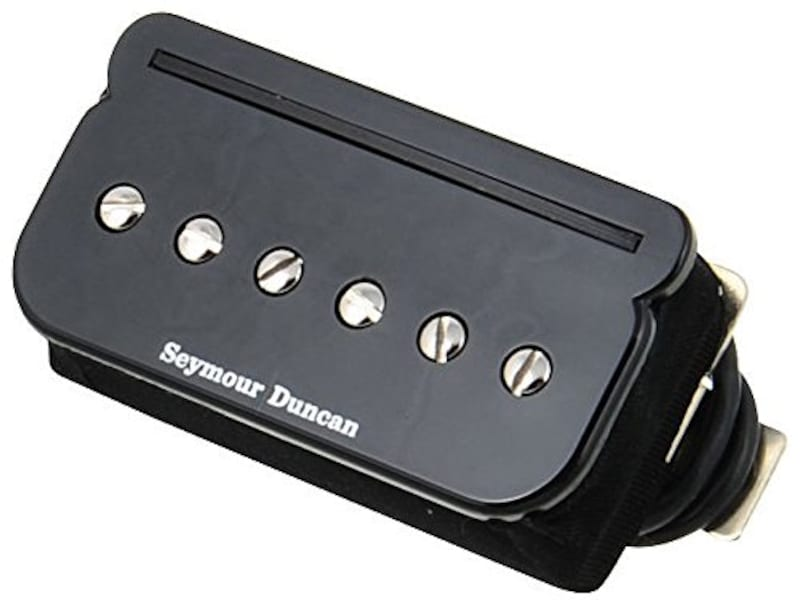 セイモアダンカン,エレキギター用ピックアップ SHPR-2b/BK  P-Rails HOT