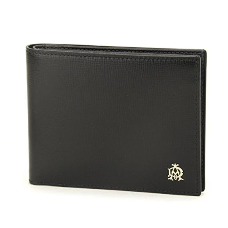 DUNHILL ダンヒル  2つ折り財布 ブラック