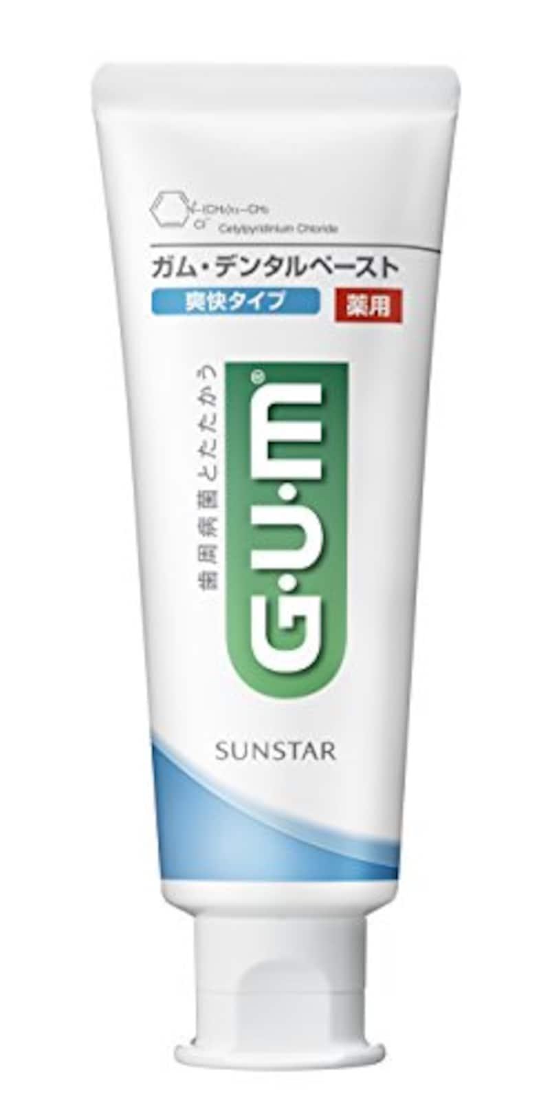SUNSTAR(サンスター),GUM デンタルペースト ST爽快タイプ