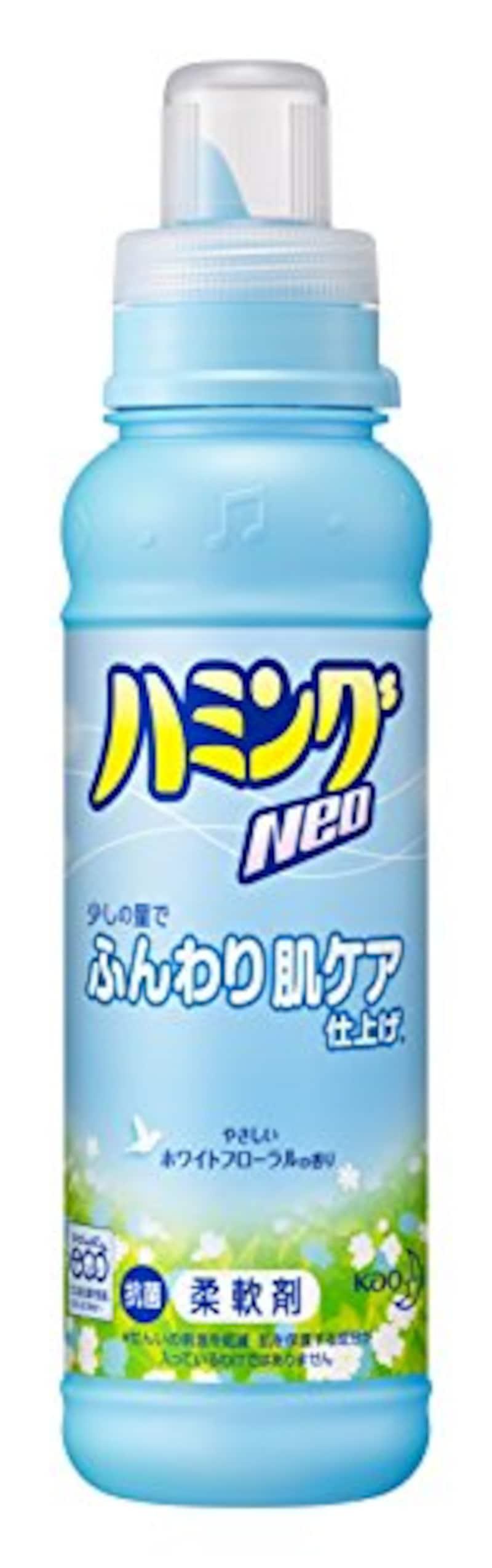 ハミングNeo 柔軟剤 ホワイトフローラルの香り 本体 400ml