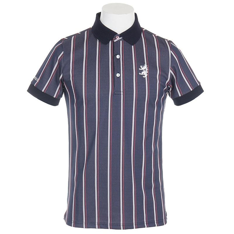 [アドミラル ゴルフ]レジメンタル ポロシャツ メンズ