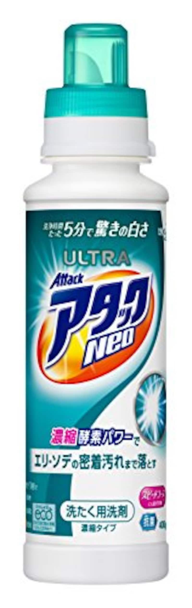 ウルトラアタックNeo 洗濯洗剤 濃縮液体 本体 400g