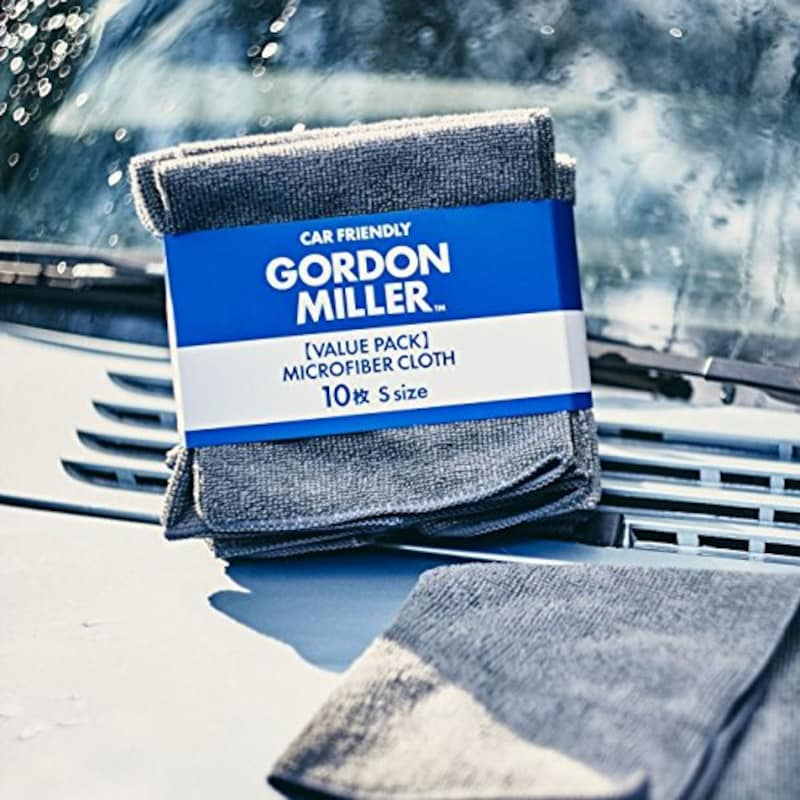 GORDON MILLER,マイクロファイバー クロス S グレー 10枚セット