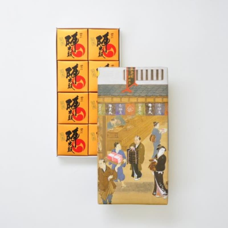 お菓子の香梅 誉の陣太鼓 8個入