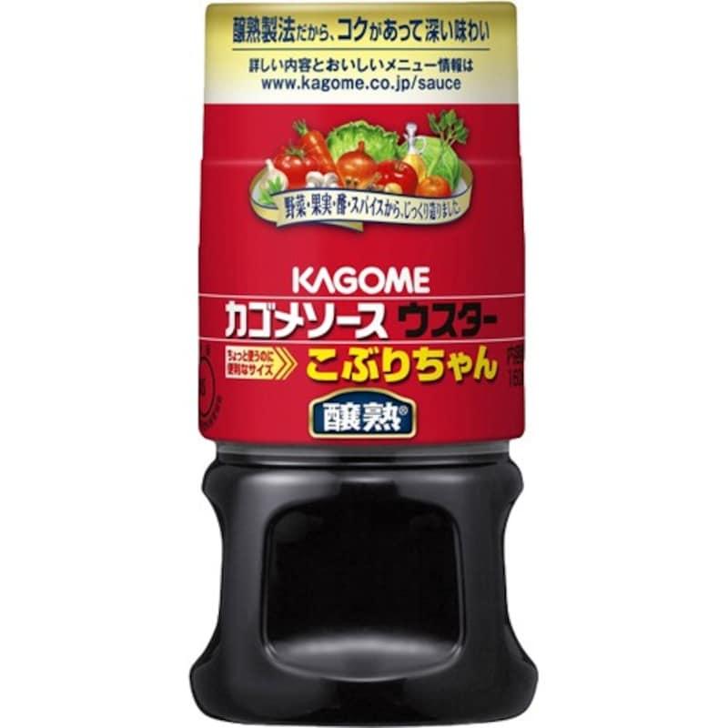 カゴメ ,醸熟ウスターソース こぶりちゃん 160ml×3個