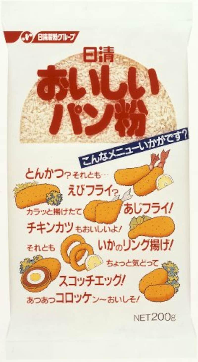 日清 おいしいパン粉 200g×20個