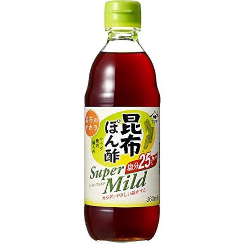 ヤマサ,昆布ぽん酢スーパーマイルド