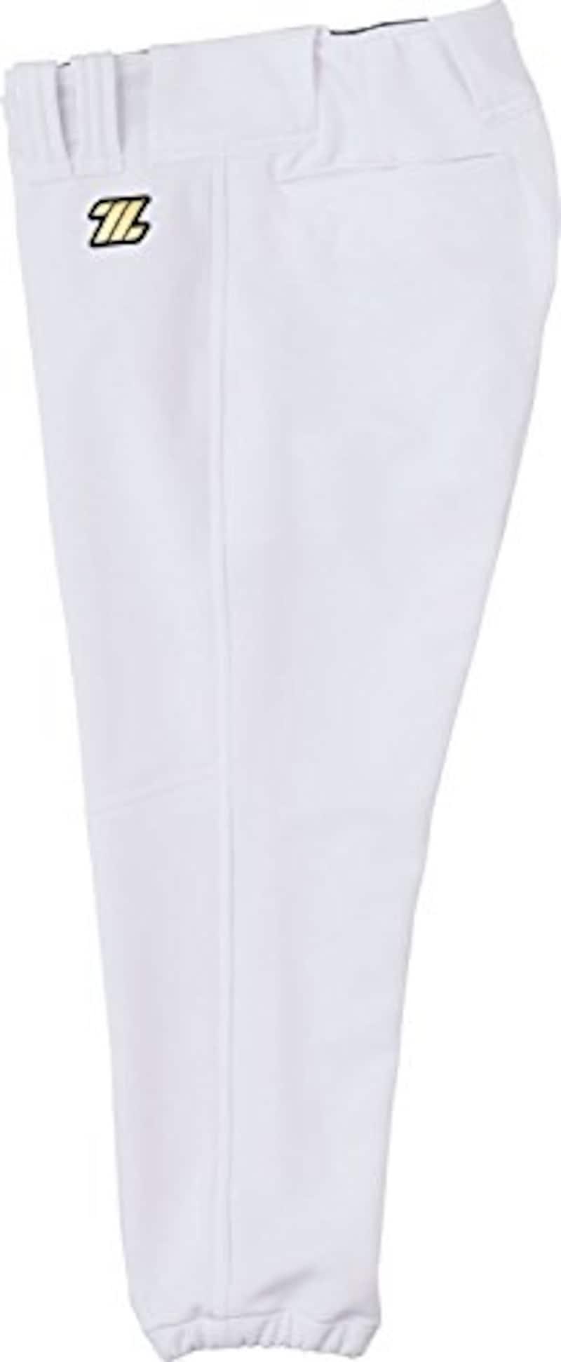 ZETT(ゼット) 野球 少年用 ユニフォーム レギュラー パンツ ヒザ 二重 補強 メカパン BU2182P