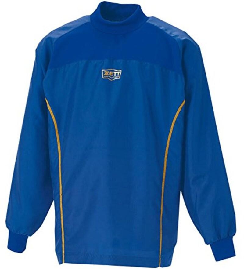 ZETT(ゼット) 少年野球 ウインドブレーカーシャツ (ハイネック・長袖) BO115WJ