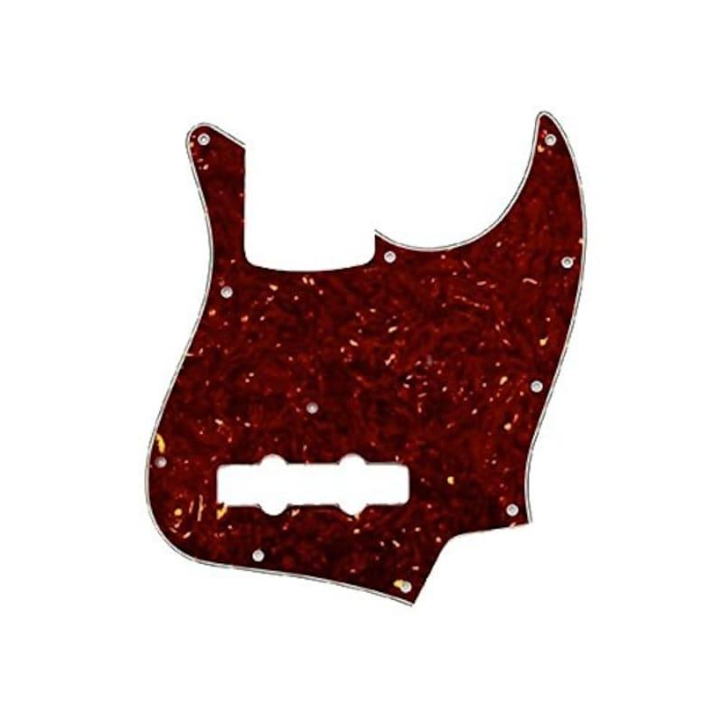 ALLPARTS ( オールパーツ ) Tortoise Pickguard for Jazz Bass® ジャズベース用ピックガード TOR3P タートル 3プライ/ 8049