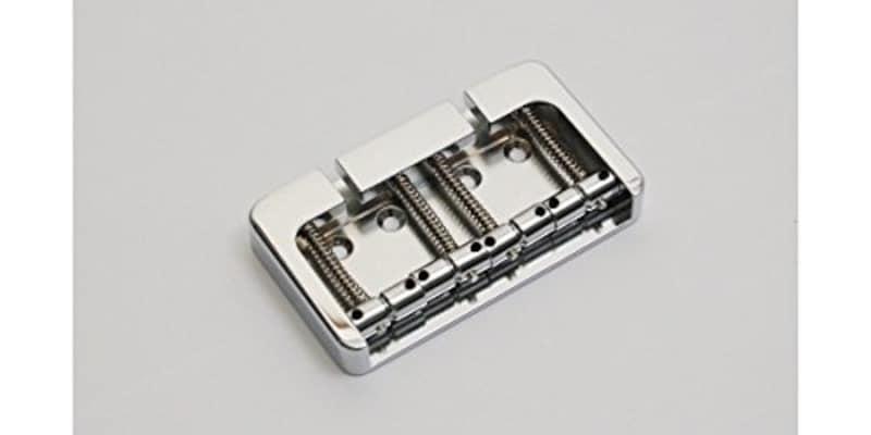 HIP SHOT ヒップショット ベース用ブリッジ 4 String B style Bass Bridge Aluminum Chrome