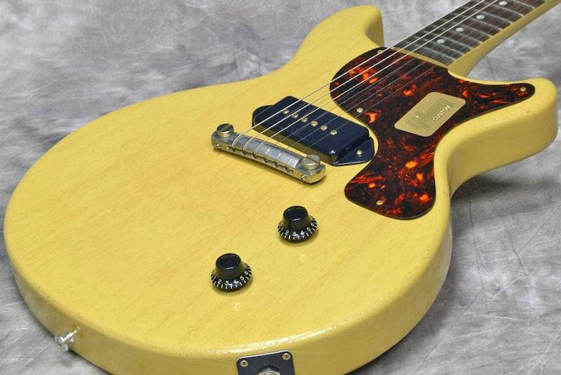Gibson Custom / Limited Run 1958 Les Paul Junior Double Cut Lightly Aged TV Yellow