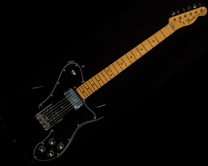 "Fender USA American Vintage '72 Telecaster Custom ""Thin Skin Nitro"" Black"