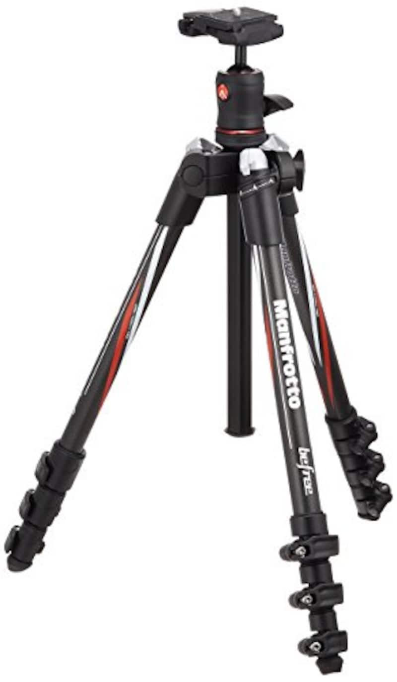 Manfrotto,三脚 Befree カーボンファイバー 4段 ボール雲台キット,MKBFRC4-BH