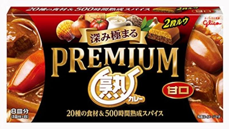 江崎グリコ ,プレミアム熟カレー甘口 160g
