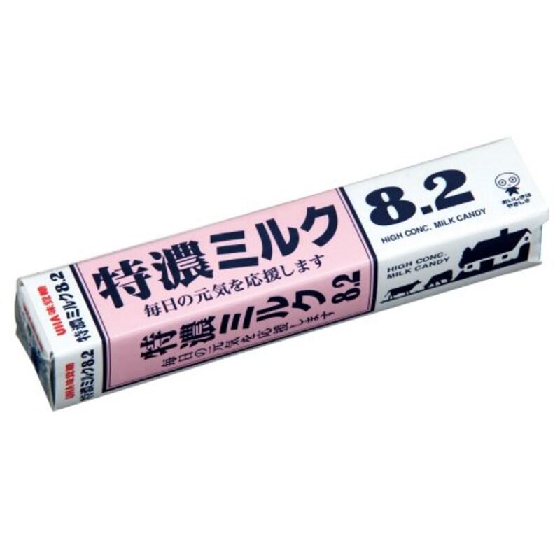 味覚糖,特濃ミルク8.2