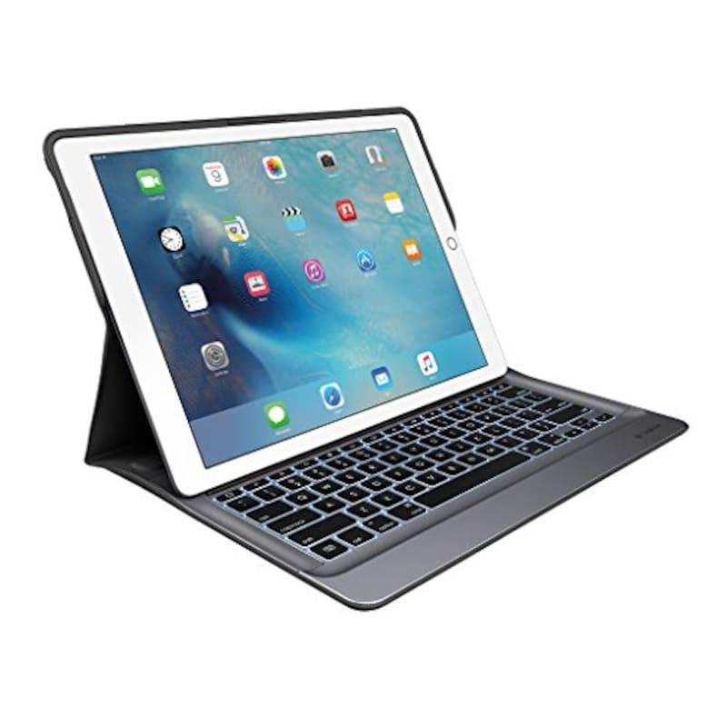 Logicool, iPad Pro 12.9インチ用 キーボードケース,IK1200BK