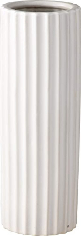 パール金属 陶器 傘立て バウム 丸 ホワイト N-8067