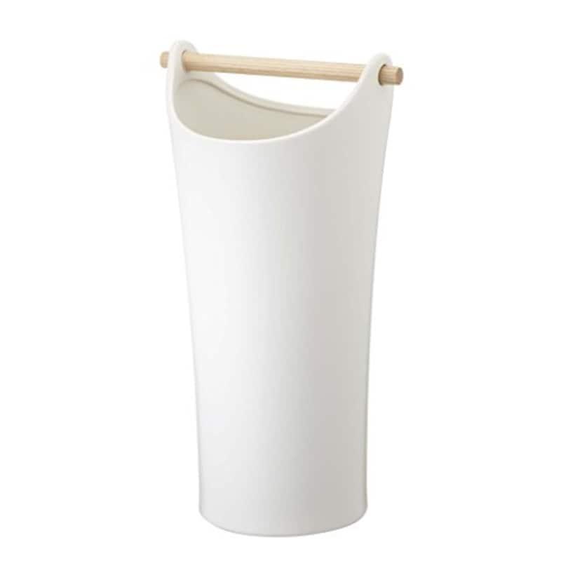 山崎実業 陶器傘立て コモ ホワイト 2609