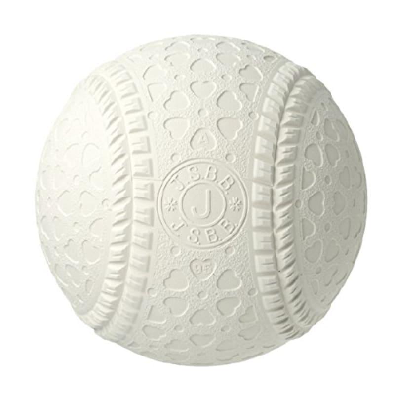 内外ゴム(NAIGAI) 軟式 野球 ボール 公認球 J号 (学童用) 2球セット