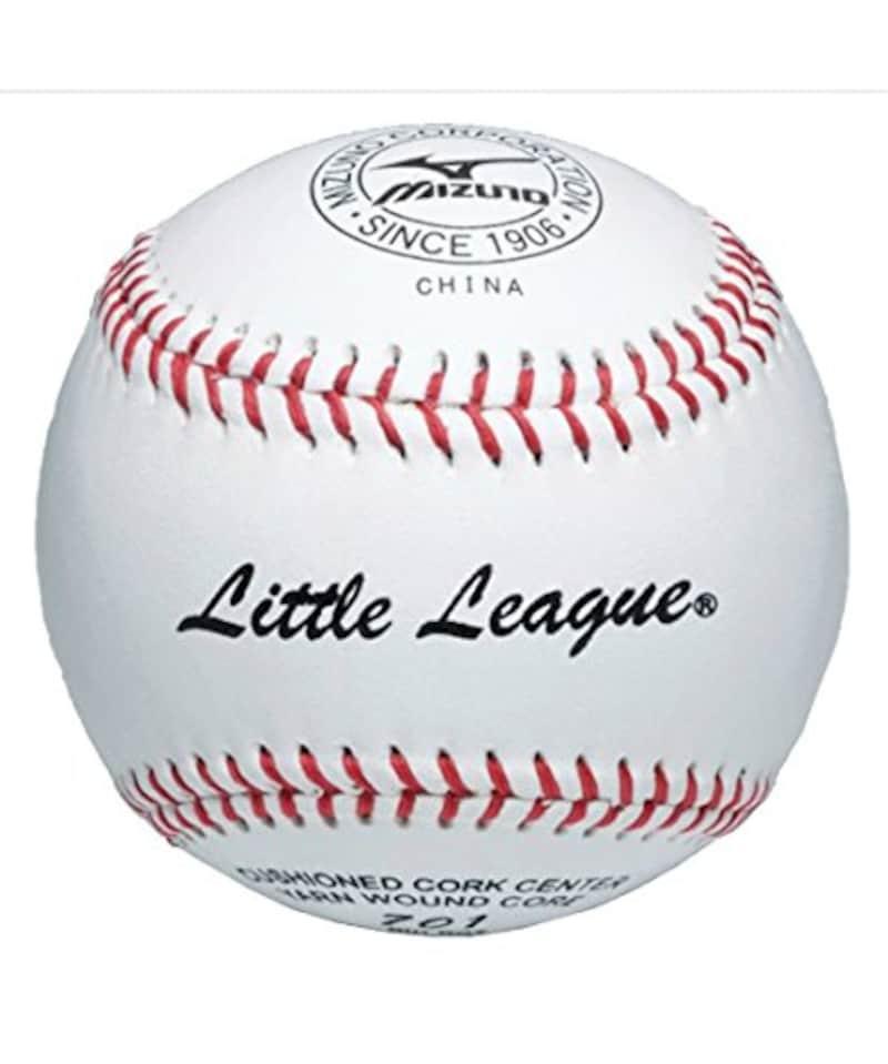 ミズノ 少年硬式野球ボール リトルリーグ701 リトルリーグ試合球 1ダース/12個入り 1BJBL70100