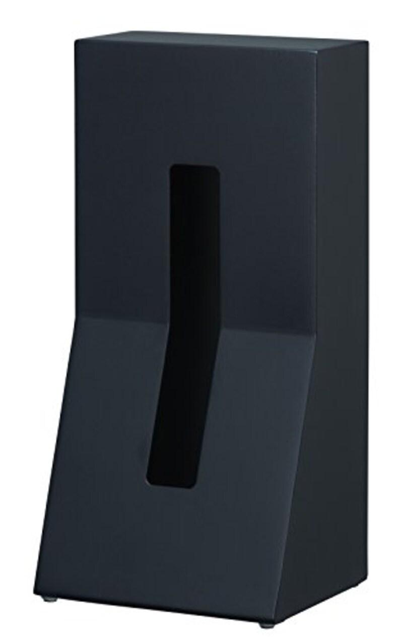 DUENDE ティッシュケース STAND! STEEL Black DU0024