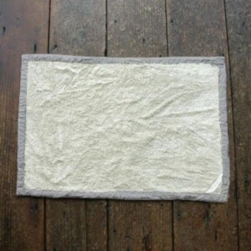 FOG(フォグリネン) マッサージバスマット ホワイト