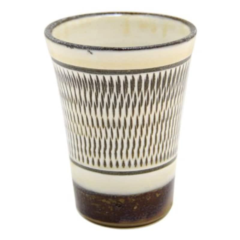 飛び鉋 フリーカップ TOBI-KANNA FREE CUP ONTAYAKI