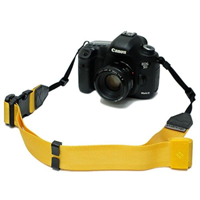 diagnl(ダイアグナル),Ninja Camera Strap 38mm Yellow