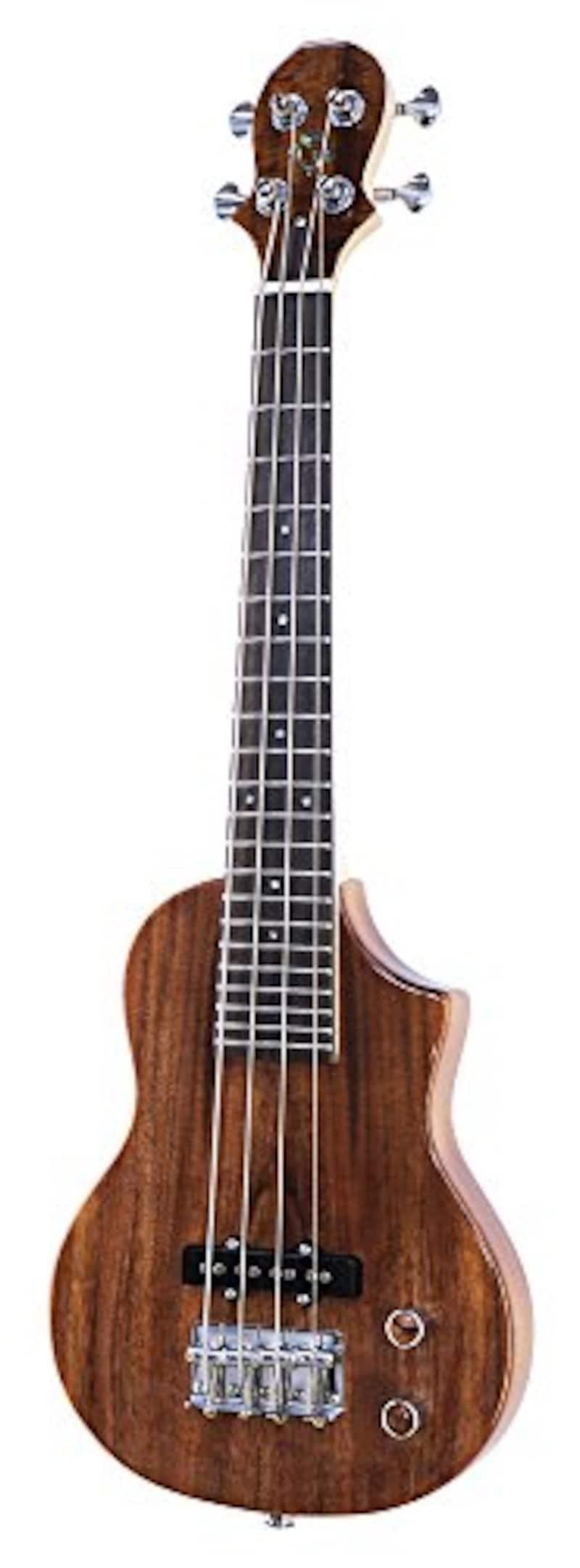 Big Island Ukulele HONU Electric Bass Ukulele Series アカシアトップ EBU-ACA-N